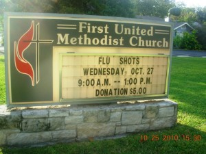 flu church vaccine